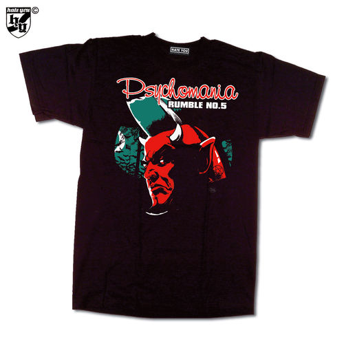 "T-SHIRT ""PSYCHOMANIA-RUMBLE # 5""- 2011"