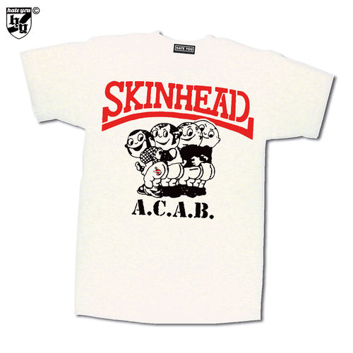 "T-SHIRT ""SKINHEAD - A.C.A.B. vs BLOODSTAINS"""