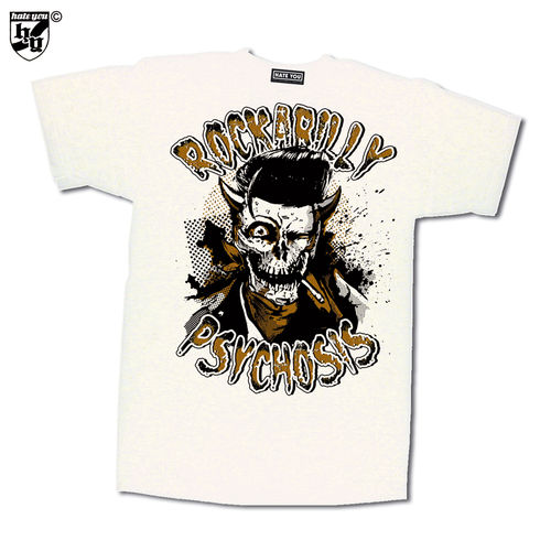 "T-SHIRT ""ROCKABILLY PSYCHOSIS"""