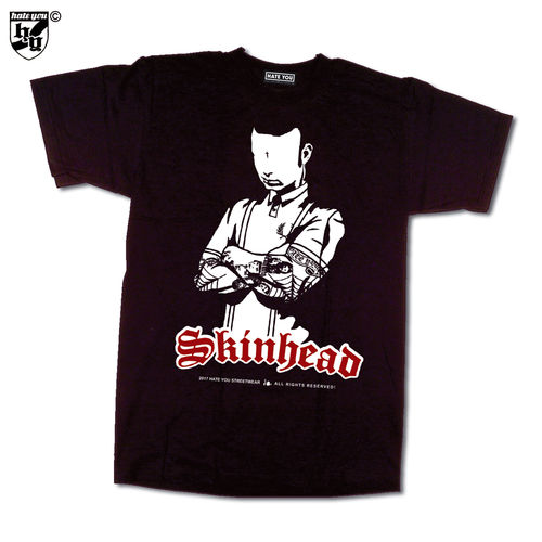 "T-SHIRT ""SKINHEAD - NEVER SURRENDER"""