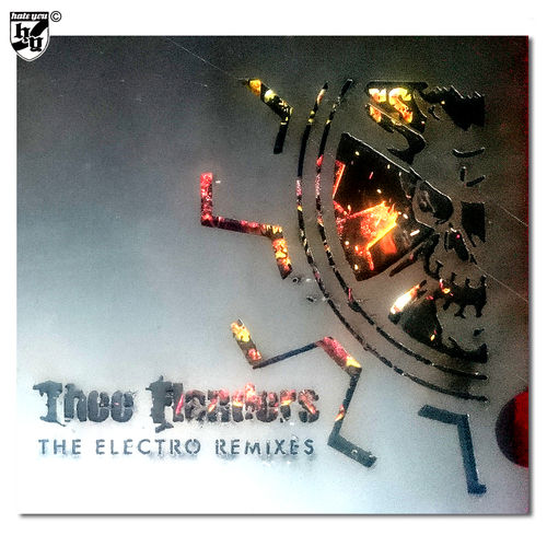 "THEE FLANDERS  ""The Electro Remixes"" Digi CD METAL CASE"