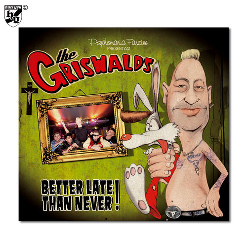 "GRISWALDS - ""Better Late Than Never!"" Digi-CD"