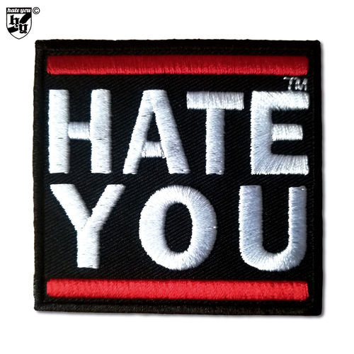 "AUFNÄHER ""HATE YOU CREW"""