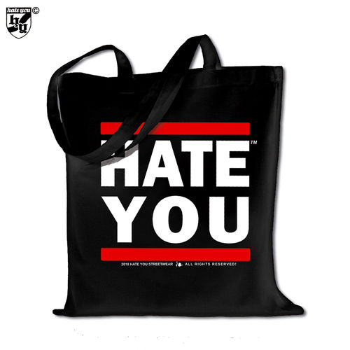 "TRAGEBEUTEL SCHULTER ""HATE YOU CREW"""