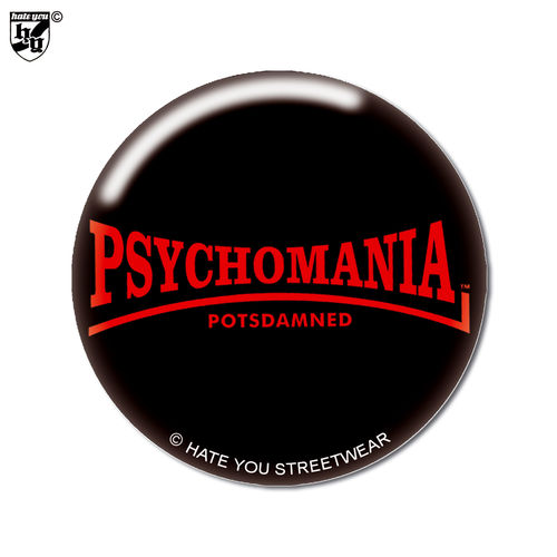 "BUTTON ""PSYCHOMANIA-POTSDAMNED"""