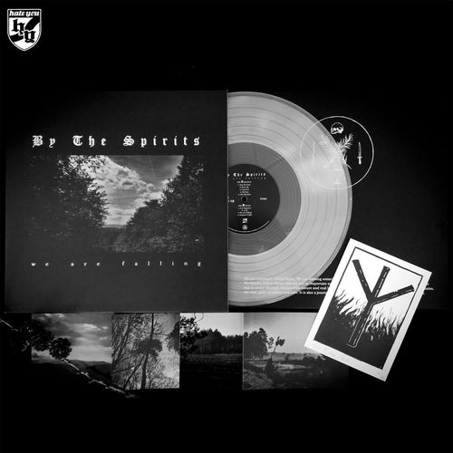 "BY THE SPIRITS - ""We Are Falling"" LP - ""MILCH"" TRANSPARENTES VINYL - (limitiert auf 65)"