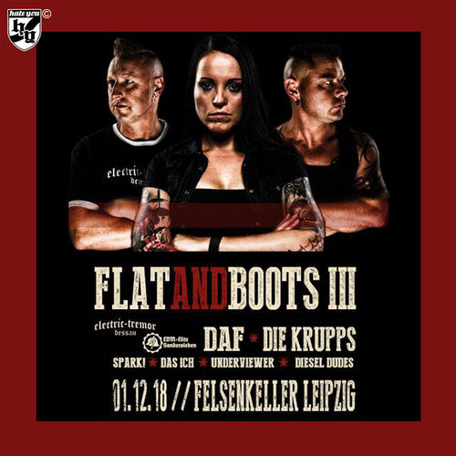 Kombi-Ticket FLAT AND BOOTS III  30.11.2018 - 01.12.2018