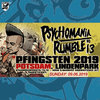 "FESTIVALTICKET ""PSYCHOMANIA RUMBLE No. 13"" … SONNTAG  (09.06.2019)"