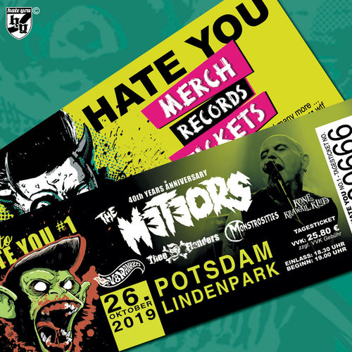 "FESTIVAL TICKET ""NICE to HATE YOU""... SATURDAY  (26.10.2019)"