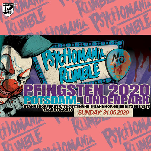 "FESTIVAL TICKET ""PSYCHOMANIA RUMBLE No. 14"" ... SUNDAY (23.05.2021)"