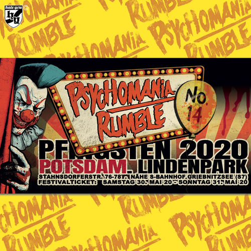 "FESTIVAL TICKET ""PSYCHOMANIA RUMBLE No. 14"" ... WEEKEND (22.05-23.05.2021)"