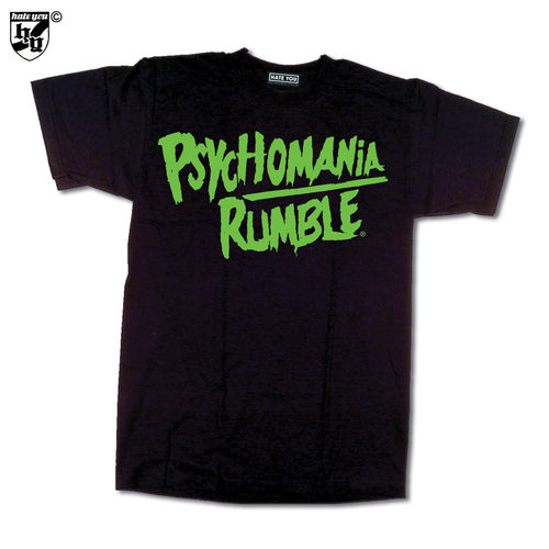 "T-SHIRT ""PSYCHOMANIA RUMBLE - LOGO"""