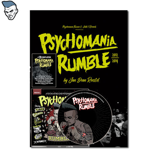 "PSYCHOMANIA RUMBLE – ""A Psycho-Attack Over Potsdamned"" - CD + FOTOBUCH"