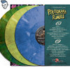 "PSYCHOMANIA RUMBLE – ""A Psycho-Attack Over Potsdamned"" - BUNDLE: blue + green + yellow marbled VINYL"