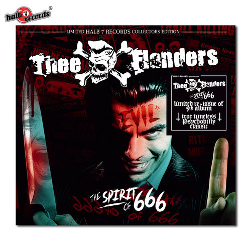 "THEE FLANDERS	""spirit of 666 (re-issue)"" Digi-File CD"