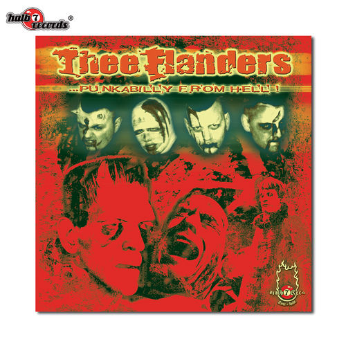 "THEE FLANDERS ""punkabilly from hell"" CD"