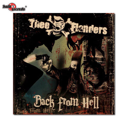 "THEE FLANDERS	""back from hell"" CD"