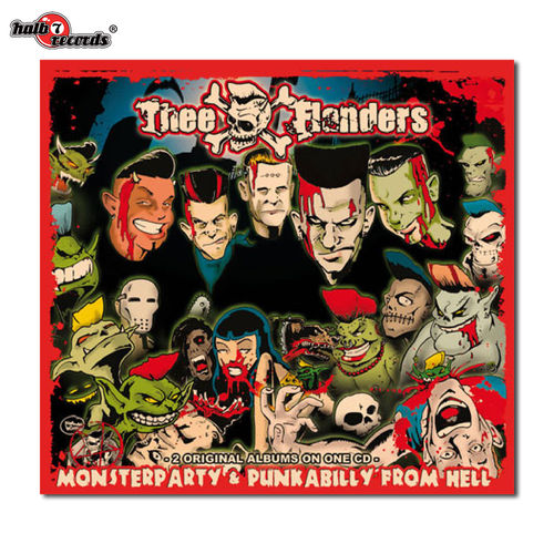 "THEE FLANDERS	""monster party / punkabilly from hell"" (re-issue) Digi-CD"